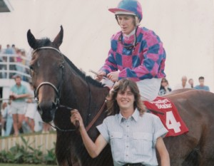 Winfield Stakes. Nat & Steven Miller with AA.